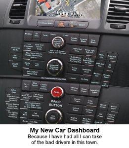 Funny Car Dash